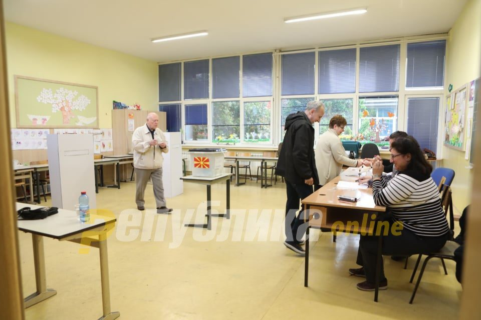 11,450 citizens voted in local elections in Ohrid until 13 h, 2,743 in Novo Selo