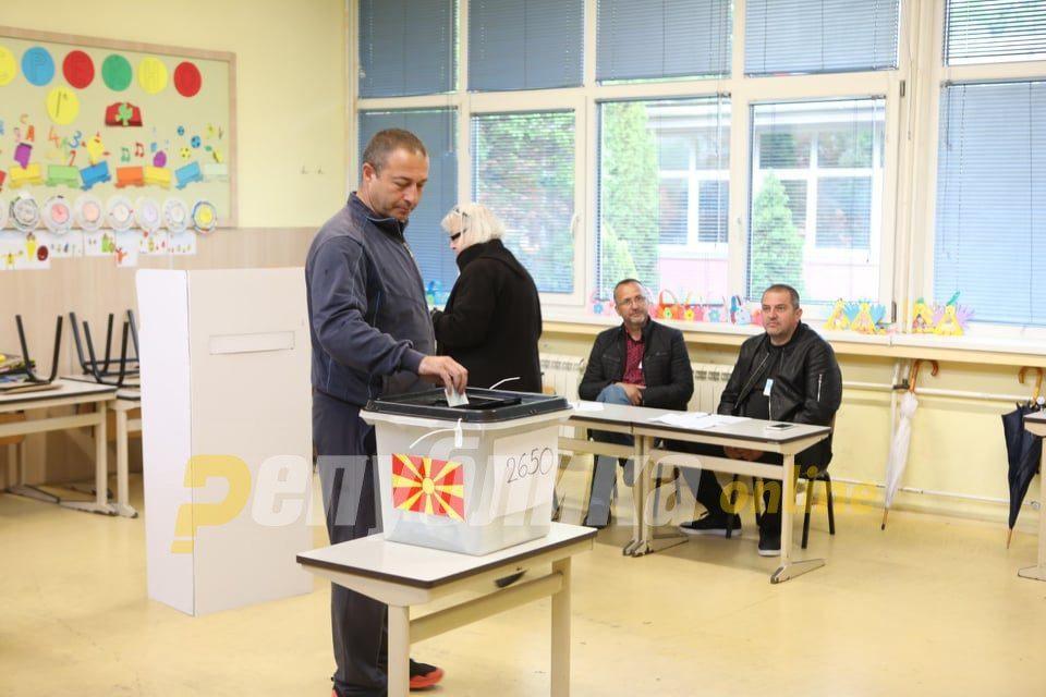 SEC: Voter turnout 20.73 % until 13 h