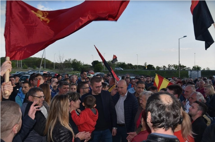 Mickoski in Kumanovo: On May 5, SDSM's end will come