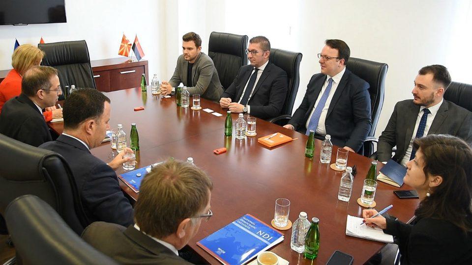 Mickoski – Mitchell meeting: VMRO-DPMNE is committed to Macedonia's Euro-Atlantic agenda