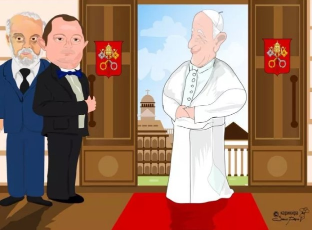 The Doorman ante portas: Macedonians not amused as Krsto Mukoski goes to the Vatican
