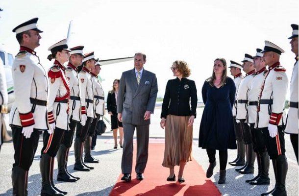 Prince Edward to meet with President Pendarovski