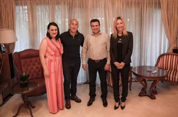 Zaev and Haradinaj hold a get together in Skopje