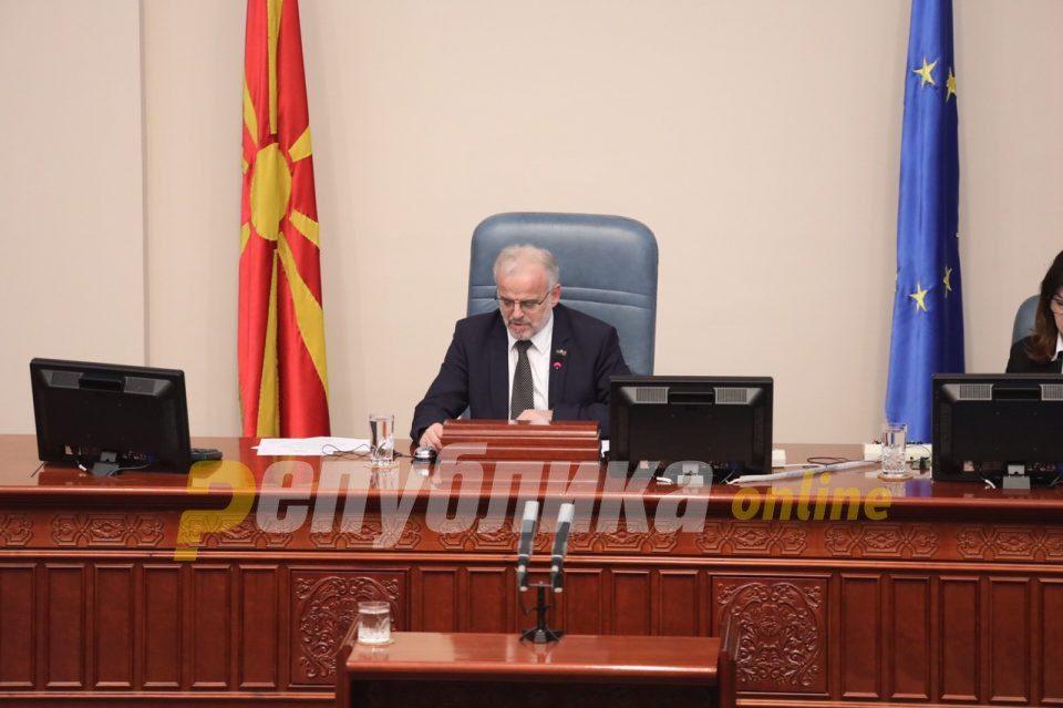 Xhaferi wants to deprive Nikola Gruevski of his parliamentary mandate