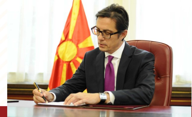 Pendarovski signed 21 laws which Ivanov did not sign