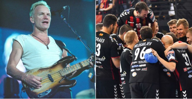Sting postpones his Skopje concert by a few hours after it clashed with the handball Champions League final