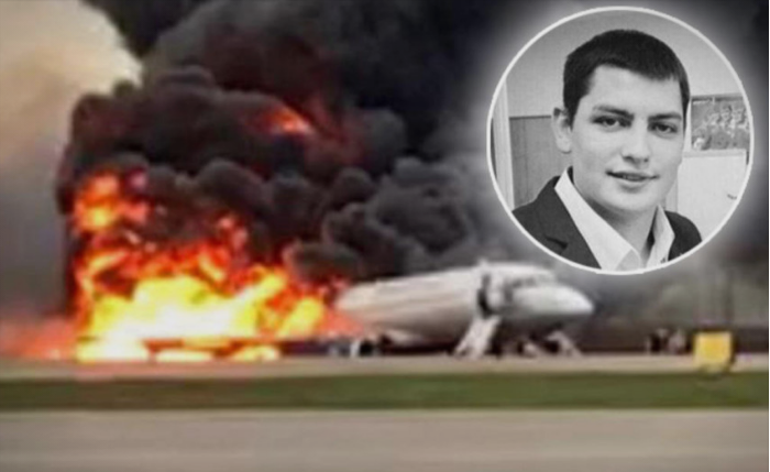 Flight attendant dies trying to save passengers in plane fire at Moscow airport