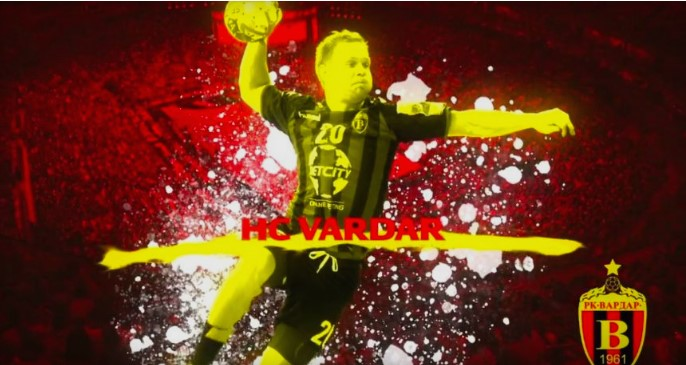 EHF welcomes Vardar team in Cologne with a powerful video