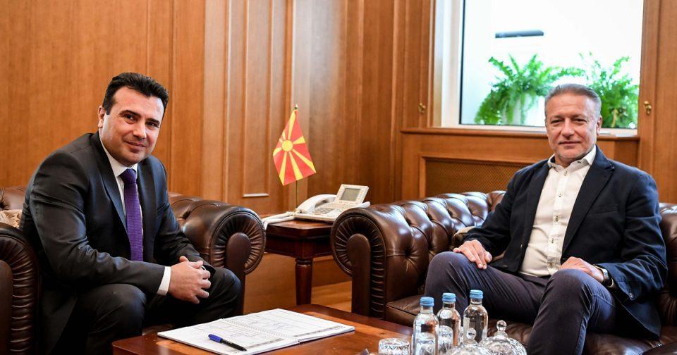 Zaev savior from corruption charges Branko Crvenkovski returns to the limelight for a region EU integration initiative