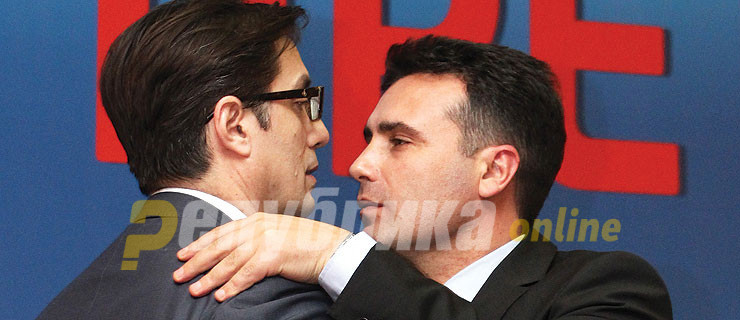 Zaev meets Pendarovski after snubbing him at the inauguration