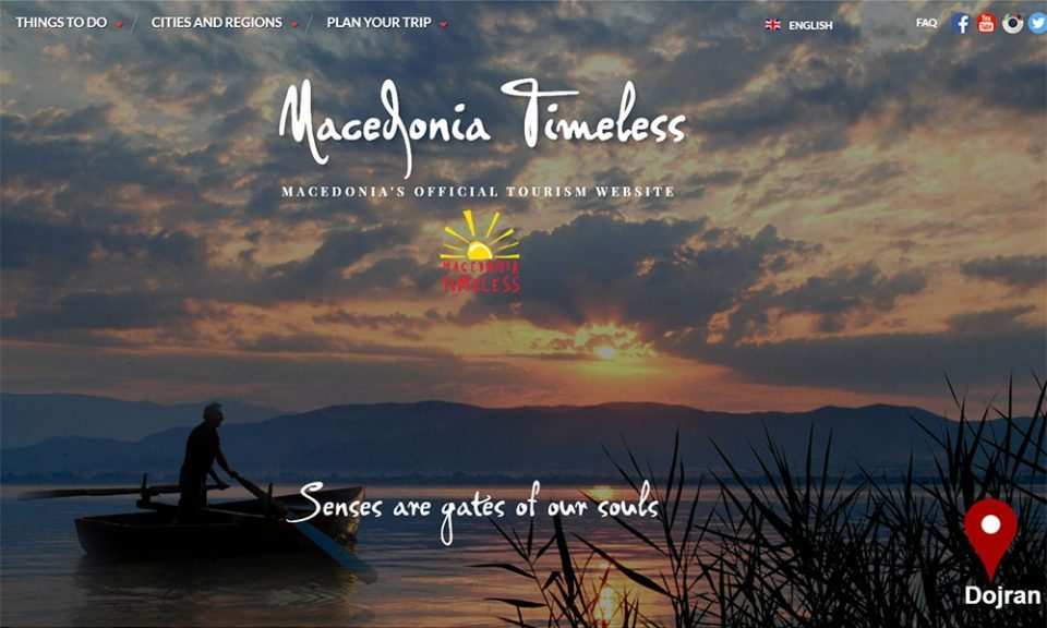 Greek parties argue over the Macedonia Timeless tourism promotion site