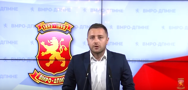 VMRO: Healthcare Minister Filipce is awarding a vital large contract to a scandal tainted Albanian businessman