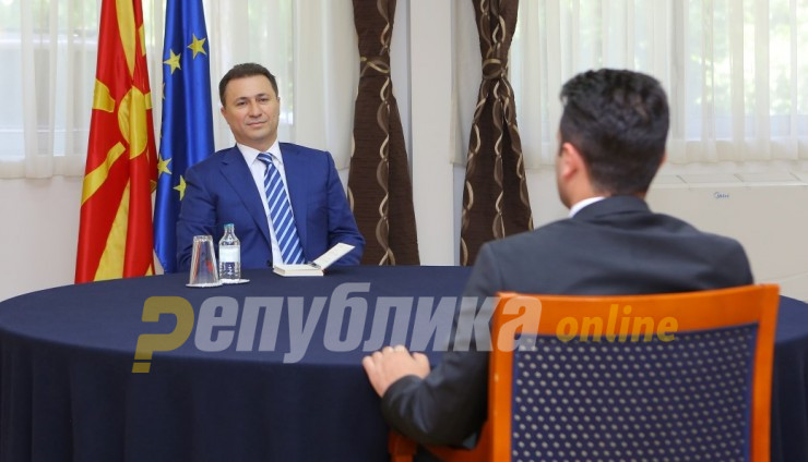 Gruevski dismisses Zaev's latest story about his escape as just another attempt to divert attention