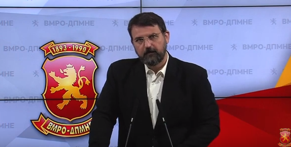 VMRO raises alarm over the census law being pushed through Parliament