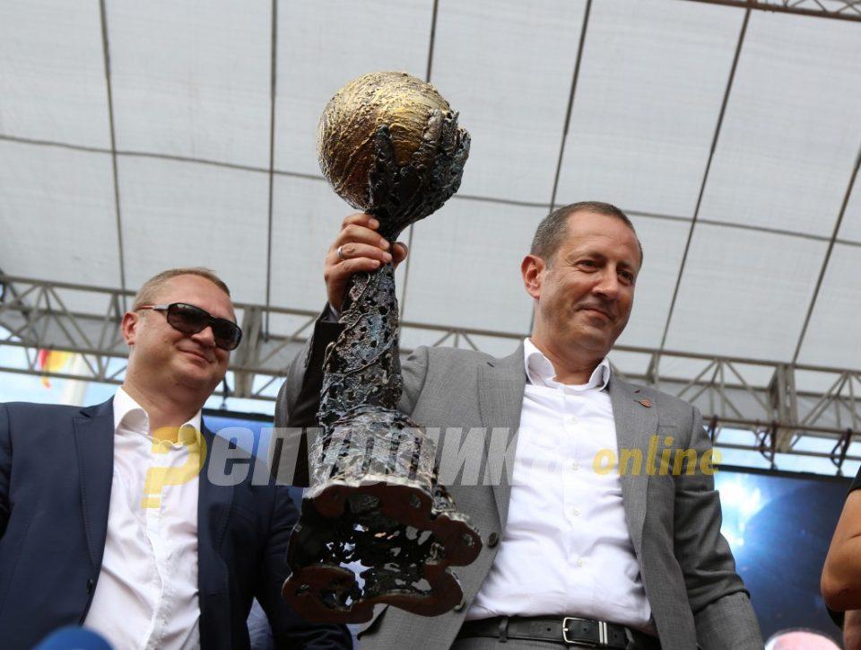 Samsonenko says Vardar will go for a third title