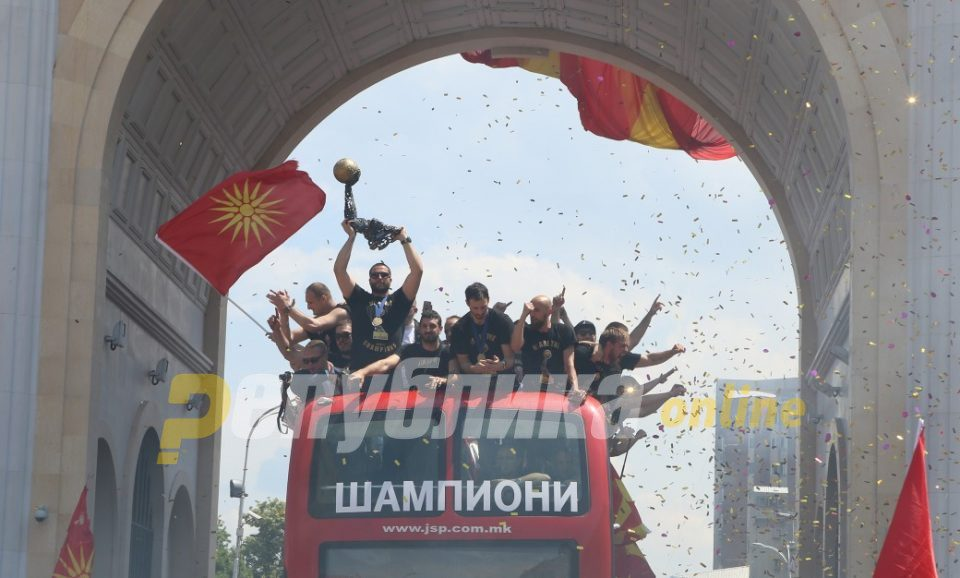 Skopje town hall will pay for the Vardar welcoming ceremony, rewards the club for its Champions League title