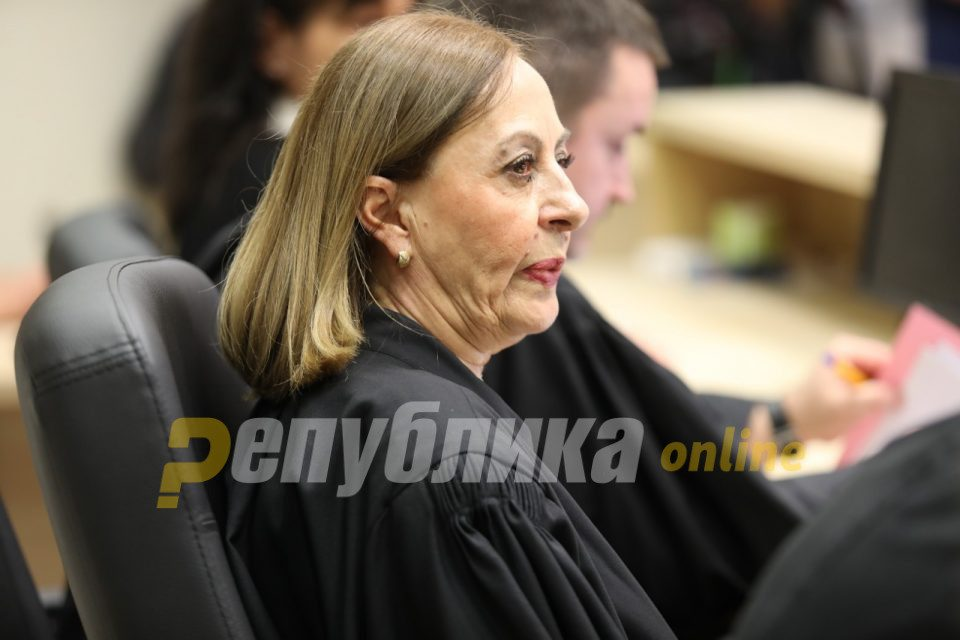 Judge Kacarska recused herself from the renewed April 2017 trial