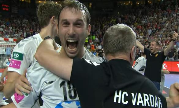 EHF releases a 60-second video of Vardar's fairy tale in Cologne