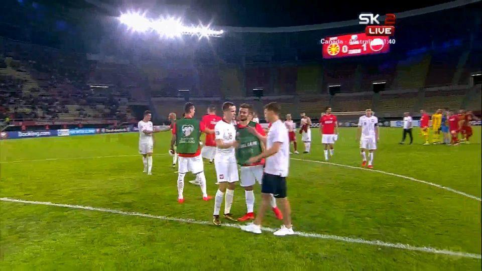 Poland beats Macedonia 1:0 in Skopje