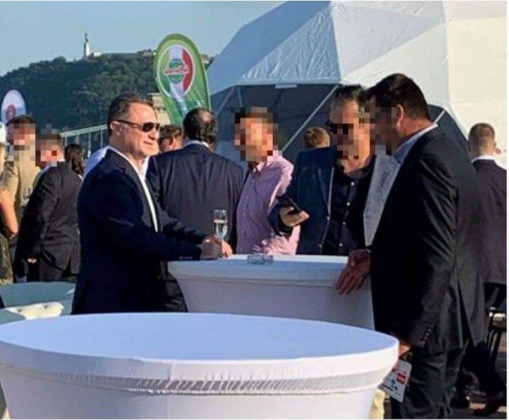 Gruevski meets Hungarian official, attends a business event in Budapest
