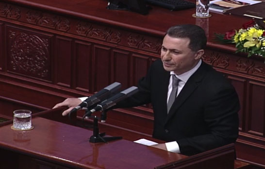 Gruevski: Time showed who was right