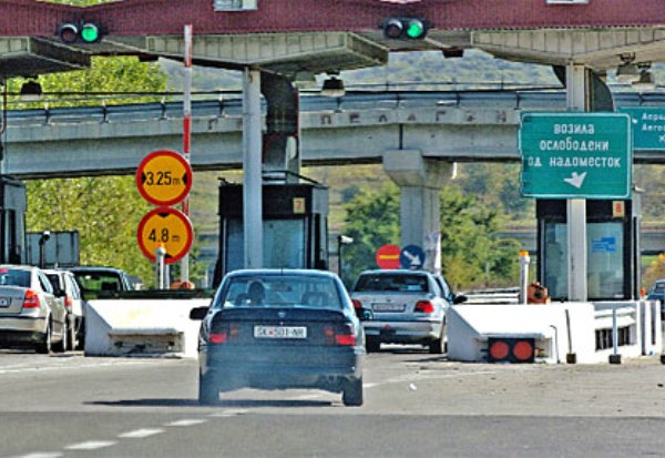 Even with infrastructure construction moribund, Zaev's Government plans to build new highway toll stations