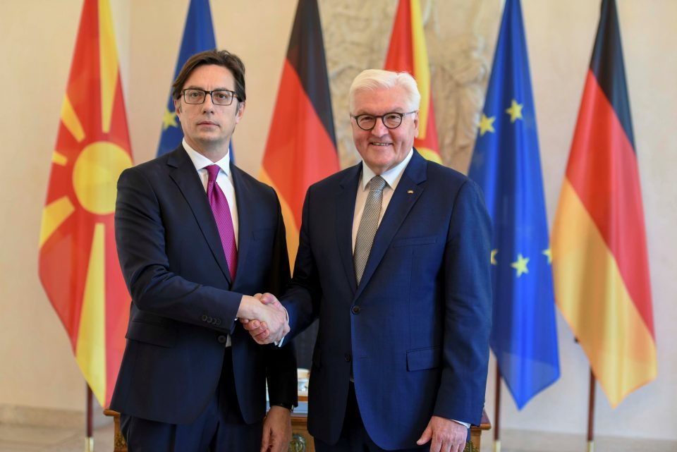 Pendarovski – Steinmeier: Excellent cooperation between our countries