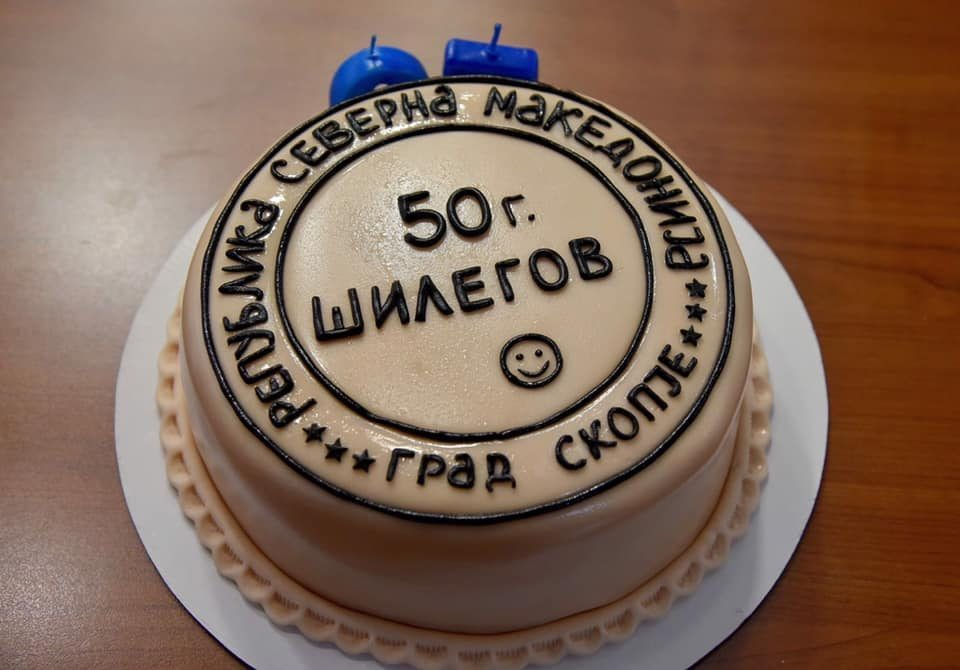 "Can't risk angering the Greeks: Skopje Mayor Silegov slaps ""Republic of North Macedonia"" even on his birthday cake"