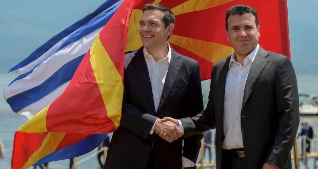 Zaev praises the Prespa treaty at the anniversary of its signing