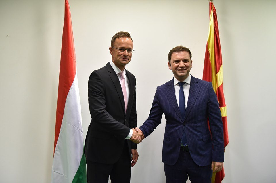 Hungarian Foreign Minister Szijjarto calls for urgent opening of EU accession talks with Macedonia