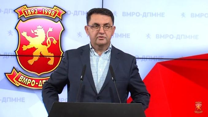 Slaveski: EC report reveals the Government's economic failures