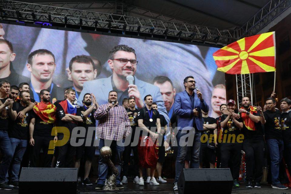 Serbian sportscasters: The best handball now lives in Skopje