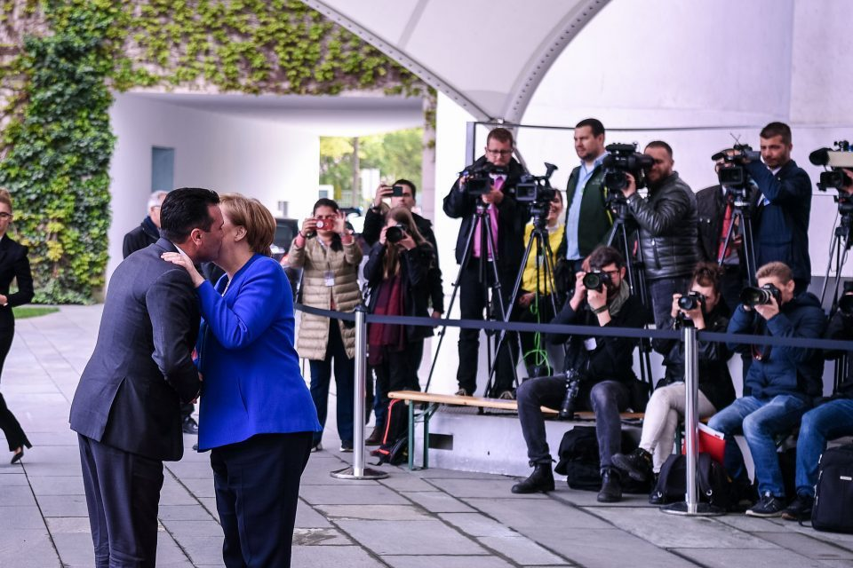 Süddeutsche Zeitung: Merkel against date for 'North Macedonia'