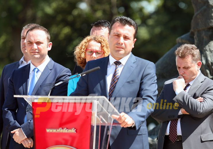 Zaev says his next steps will depend on Angela Merkel