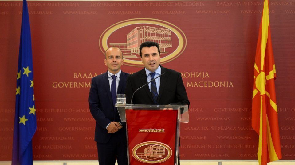 "Zaev says he dismissed his Finance Minister so that he can personally take charge of the ""bold steps"" to come"