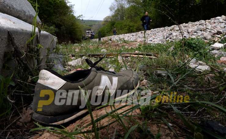 Migrant from Pakistan killed in a train accident near Demir Kapija
