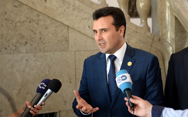 You promised!, Zaev tells Merkel