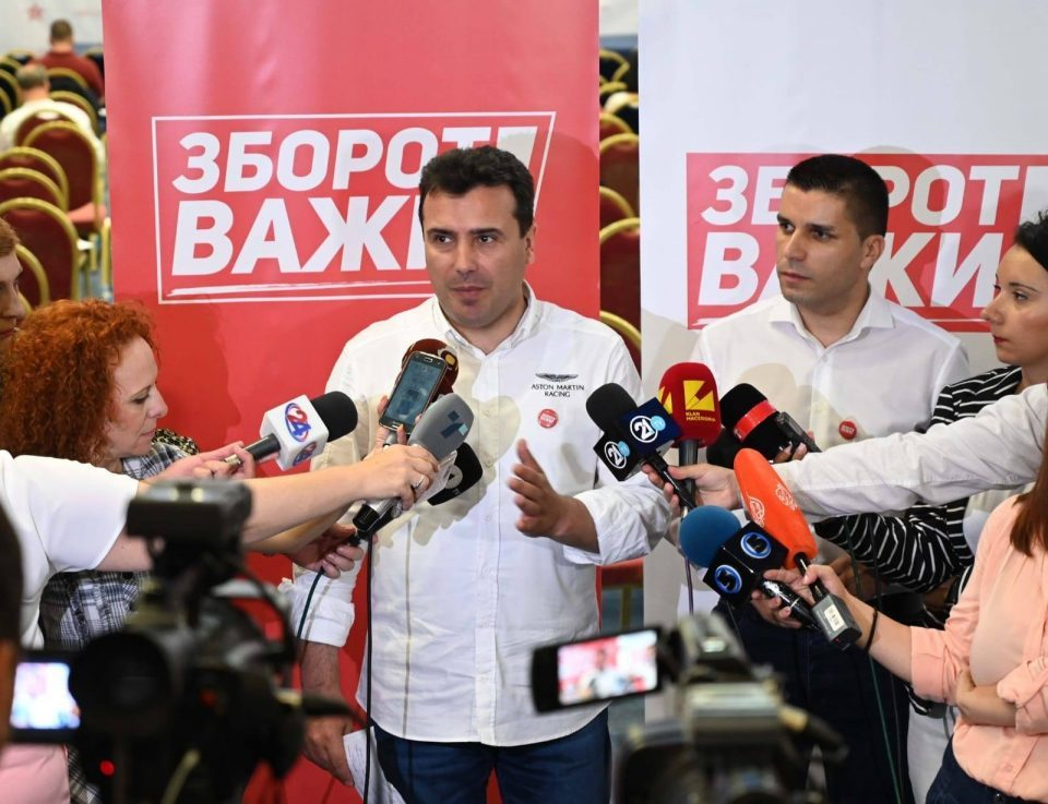 Zaev runs away from early elections, says a few more months wait for EU accession talks are no big deal
