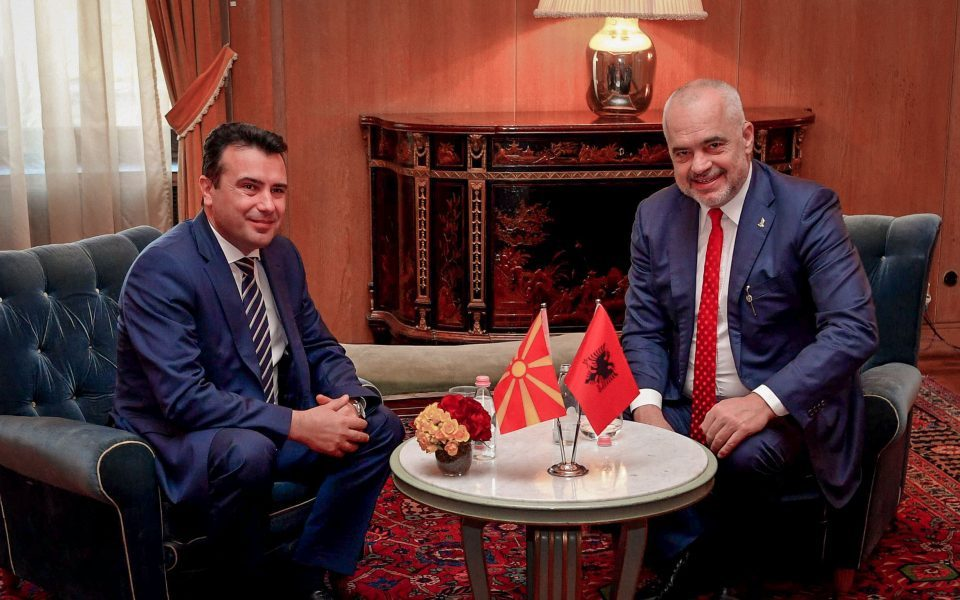 Zaev: Germans fear my friend Edi Rama could initiate unification with Kosovo, I do not believe in those things