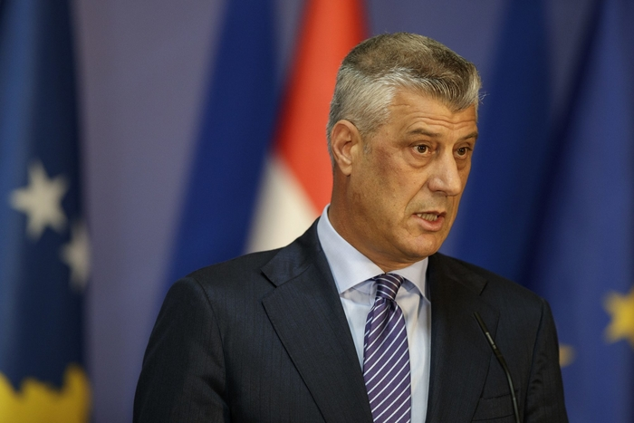 Russian comedians tried to prank Thaci, but failed