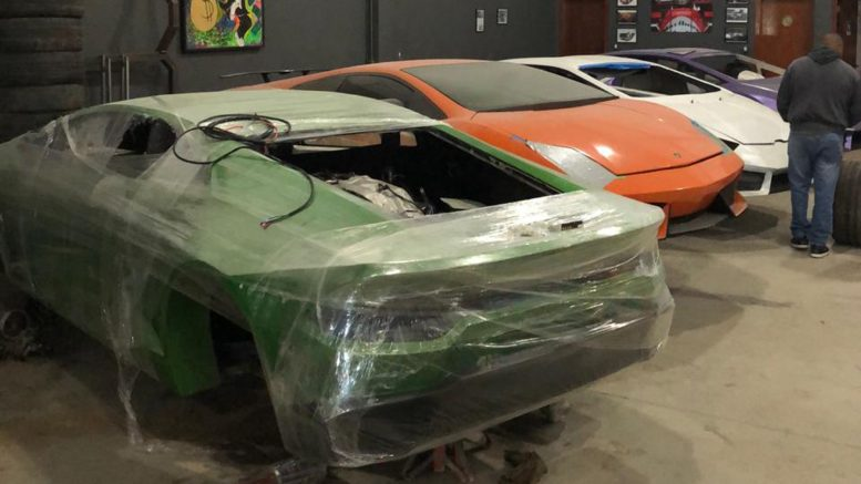 Police in Brazil shut down factory making fake Ferraris and Lamborghinis