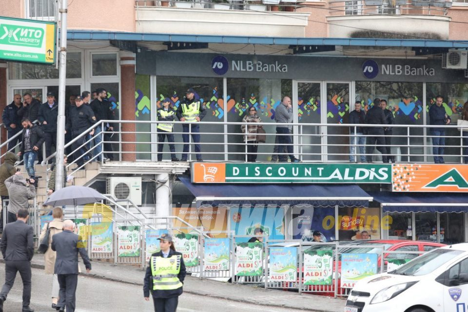 Saraj robbery – armed attackers took 115.000 EUR from the local NLB bank branch