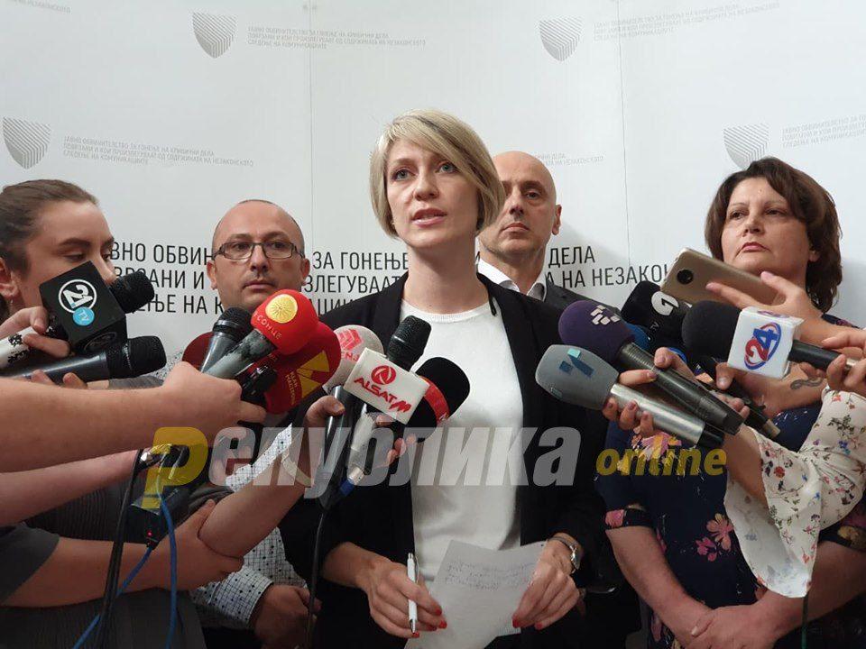 SPO dissociates itself from Katica Janeva