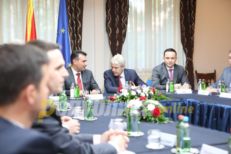 Meeting of top party leader canceled after Zaev refuses to discuss holding early elections