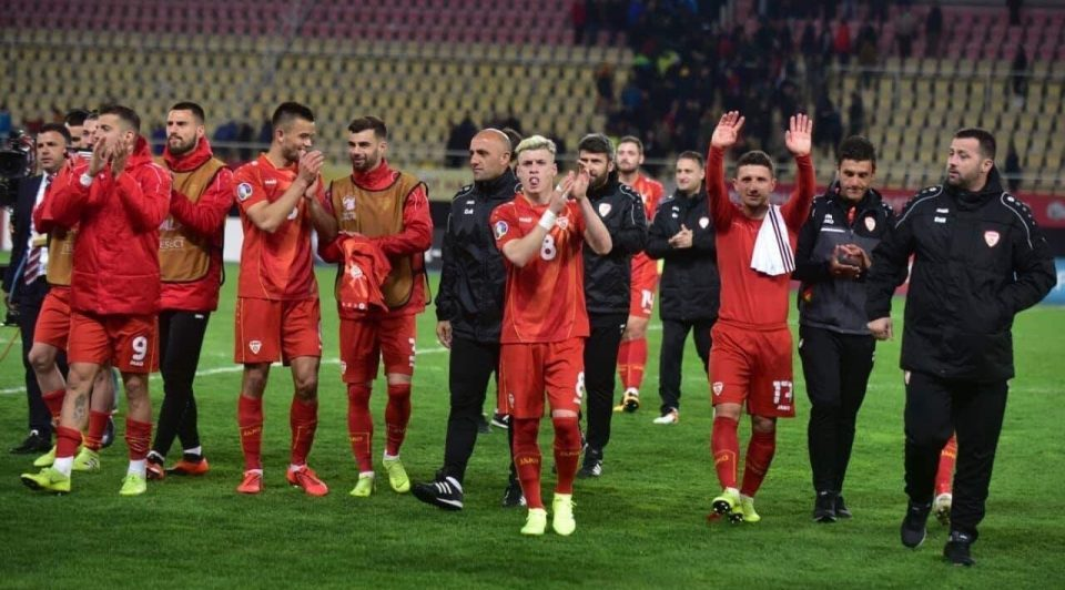 Macedonia up two places on the FIFA world ranking, tied with China for the 71st spot