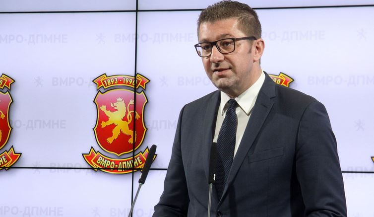 Hristijan Mickoski will not attend Zaev's meeting of party leaders planned for Friday