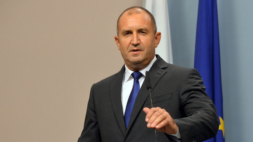 "President Radev warns Macedonia that Bulgaria's support is ""not unconditional"""
