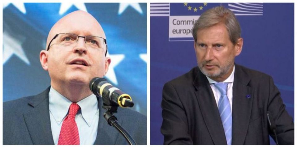 Reeker and Hahn come to Skopje to manage the political crisis caused by the Katica Janeva scandal