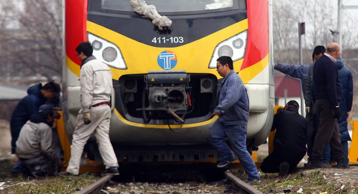 Skopje – Kumanovo railway line closed following a cargo train accident