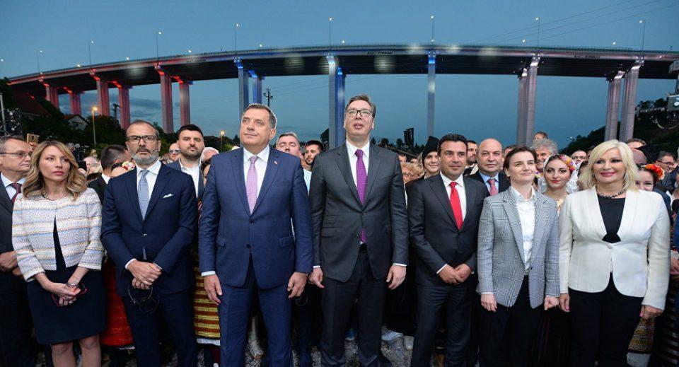 Vucic to Zaev: Greetings comrade …